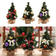 Aliexpress Buy 20cm Height Mini Christmas Tree Ball Decoration Wrap Cloth Model Desktop Window Stand Furniture Gift From