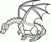 Printable Minecraft Dragon Coloring Pages