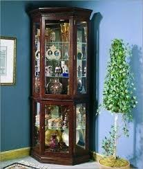 corner wall curio cabinet foter