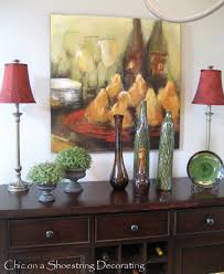 Chic On A Shoestring Decorating Dining Room Buffet Revisited