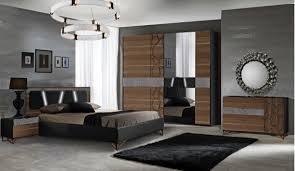 schlafzimmer set mercury in schwarz walnuss 160x200 cm