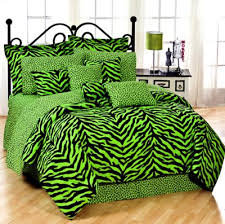 zebra lime green bedding collection comforter set bass pro shops
