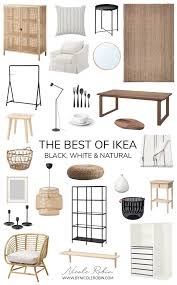 the best of ikea black white pieces that look