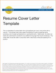Job Resume Cover Letter Template Best Of Examples For Intended