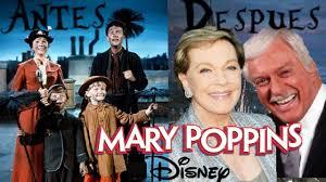 Mary Poppins Antes Y Después Antes Y Después De Mary Poppins