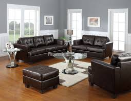 Black Leather Couch Decorating Ideas by Dark Brown Leather Sofa Wonderful Classic Style Living Room