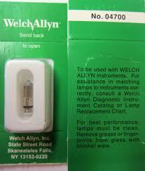 welch allyn 4700 halogen replacement light bulb lightbulb ebay