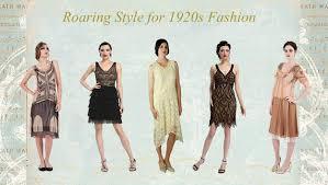 1920s Flapper Fashion Dresses