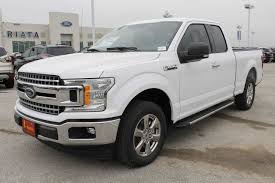 100 Ford 4 Door Truck 2018 F150 SuperCab 65 Box XLT WD Pickup