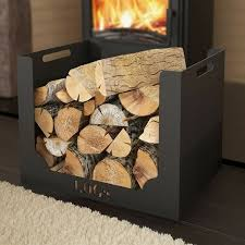 brennholz halter minimalistisches design metall home