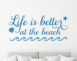 Wall Mural Decals Beach by Beach Wall Decal Etsy