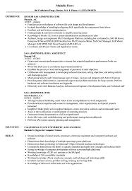 Download SAS Administrator Resume Sample As Image File