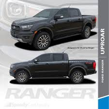 100 Truck Door Decals 2020 2019 Ford Ranger Stripes Side Body Line Vinyl