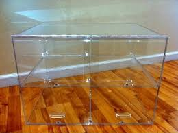 Small Acrylic Bakery Counter Display Case