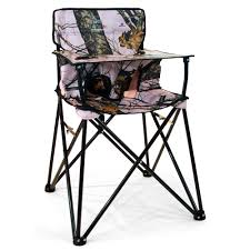 Pink Camo Zero Gravity Chair by Baby Go Anywhere Highchair Pink Mossy Oak Jamberly Hb2014
