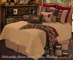 Luxury Tahoe Rustic Bedding Comforter Set 3 Pillows