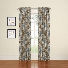 Blackout Curtain Liners Walmart by Eclipse Arbor Blackout Window Curtain Panel Walmart Com