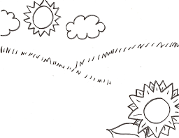 Bug Sticker Scene Coloring Pages
