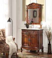 Distressed Cherry French Country Bathroom Vanity by Vintage Bathroom Vanities Bathroom Vanity Styles