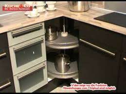 küche co eckunterschrank karussell wmv