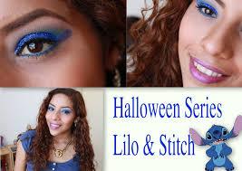 Lilo And Stitch Halloween by Hallowen Series Maquillaje Inspirado En Lilo U0026 Stitch Makeup
