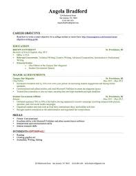 Resume Template For College Student With No Work Experience Templates Students