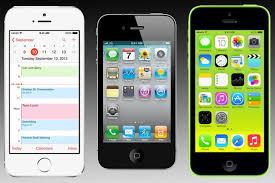 iPhone 5S vs iPhone 5C vs iPhone 4S Spec parison