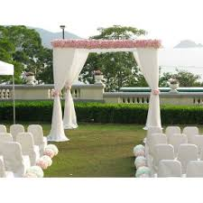 Outdoor Wedding Decoration Design Hong Kong