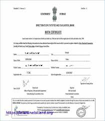 Official Birth Certificate Template Awesome Translation Spanish To English