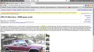 Craigslist Charleston SC Used Cars And Trucks - For Sale By Owner ... Craigslist Search In All Of Ohio South Carolina All How To Find Towns And Los Angeles California Cars And Trucks Used Loris Sc Horry Auto Trailer Florence Sc Best Car Janda Boone North For Sale By Owner Cheap Sacramento For By Image January 2013 Youtube