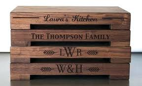 Personalized Kitchen Gifts Butcher Blocks Wedding