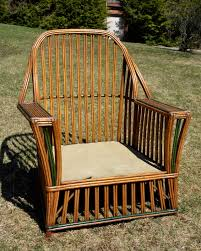 Vintage Heywood Wakefield Rattan Furniture — RATTAN ... Woodys Antiques Specializing In Original Heywood Wakefield Details About Heywood Wakefield Solid Maple Colonial Style Ding Side Chair 42111 W Cinn Antique Rattan Wicker Barbados Mahogany Rocking With And 50 Similar What Is Resin Allweather Fniture Childrens Rocker By 34 Vintage Chairs By Paine Rare Heywoodwakefield At 1stdibs Set Of Brace Back School American Craftsman Childs Slat Bamboo Pretzel Arm Califasia