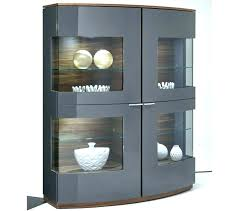 China Cabinet And Dining Room Set Tall Black Furniture