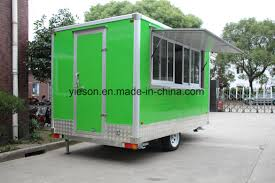 100 Green Food Truck China Color For Sale USA China Mobile