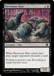 ravenous rats magic card