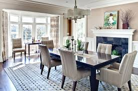 Best Neutral Dining Room Rugs Modern Centerpieces For Table Contemporary With Marvelous Geometric Ru