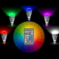 magic color changing led light bulb with remote boardwalkbuy