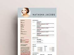 Creative Resume Template Professional And By OhSoChicResumes