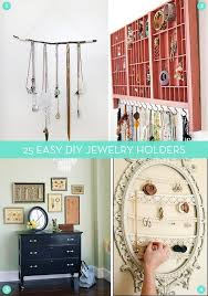 Mega Roundup 25 Easy DIY Jewelry Organizer Projects