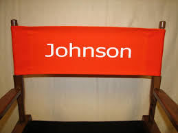 Algoma Butterfly Chair Replacement Covers by Imprinted Personalized 18 Inch Table Height Contemporary Directors