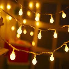 USB Plug Battery Waterproof LED Globe String Lights Christmas Tree Light For Indoor Decoration Party Wedding