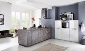 nolte inselküche marmor grau weiß hochglanz