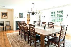 Dining Area Rugs Rug Under Room Table Round Farmhouse