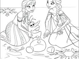 Full Image For Walt Disney Frozen Printables Coloring Pages Free Printable