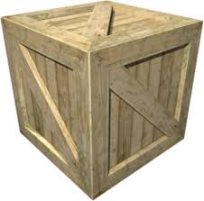 Not A Chest Persay But An Actual Wooden Crate There Would Be Small One And Large