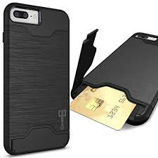 Amazon iPhone 8 Plus Case with Card Holder iPhone 7 Plus