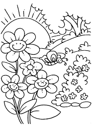 Photo Gallery On Website Free Printable Spring Coloring Pages