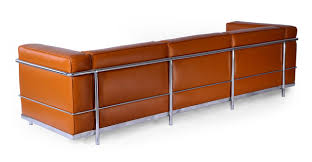 World Market Khaki Luxe Sofa by Roche Sofa Caramel Premium Leather Kardiel