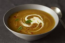Pumpkin Butternut Squash Soup Ina Garten by Squash Soup With Red Chile And Mint Vegetarian Soup Recipes