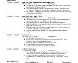 100 Resume Summary Examples Entry Level Qa Tester Example Interesting